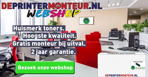 dePrintermonteur.nl toner - printer reparatie